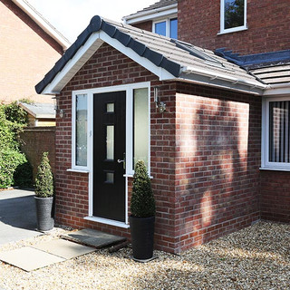 New Porch Extension Apporved in Telford, Shropshire.