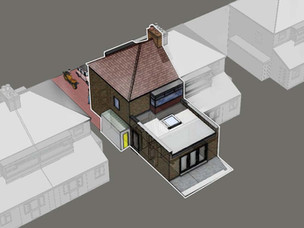 Prior Approval House Extension Granted.