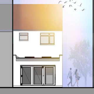 New extension approved in Romford, Essex.