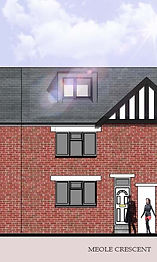 Loft Conversion Planning Application submitted in Shrewsbury, Shropshire.