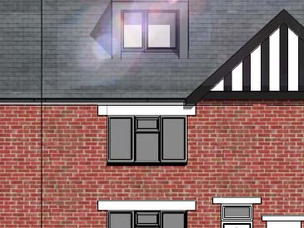 Loft Cobversion & Extension Application submitted in Shrewsbury.