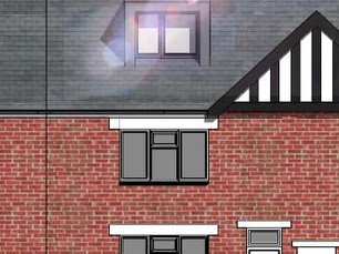 Extension and Loft Conversion Planning Application approved in Shrewsbury.