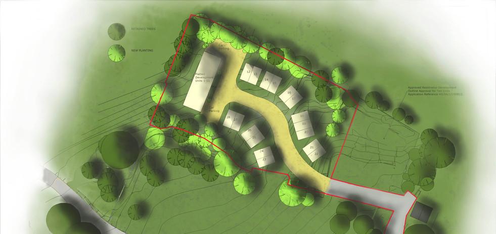 Major Residential Planning Application.