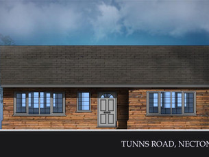 New build approved in Conservation Area.