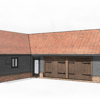 New Garage and Home Office in Norfolk.