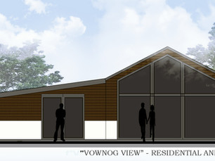 Residential Annex Planning Application approved in Oswestry, Shrpshire.