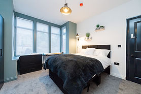 Six bed HMO complted in Shrewsbury.