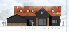 Barn Conversion planning application approvedin Norfolk.  Construction work nearing completion. n-Plan: Plannning Consultants for Norfol, Suffolk, Essex and Cambridgeshire.