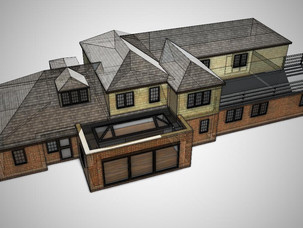 New kitchen extension receives planning apporval.