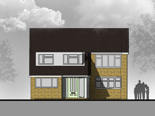Grage Conversion and Porch Extension Approved.