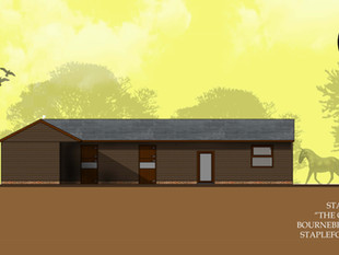 New Stable Block Planning Application Approved.