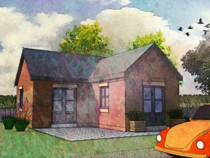 New Dwelling Approved in the Green Belt.