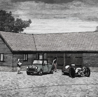 New garage and home office approved in Norfolk.