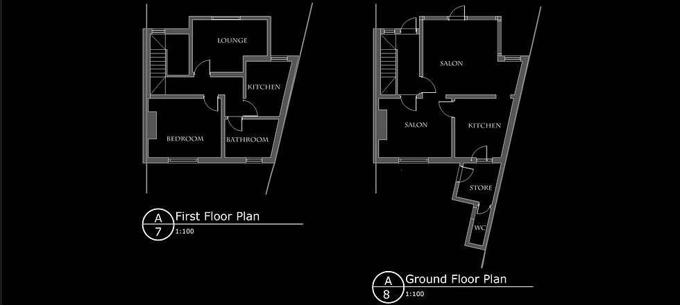 approved floorplans for Hillcrest Road,