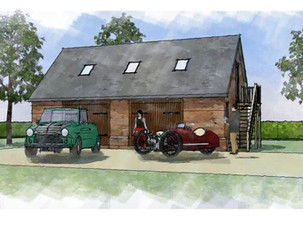 New Garage and Home Office Approved.