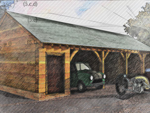 Barn Conversion and New Triple Garage Approved.