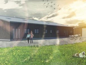 Barn Conversion in Ellesmere.