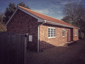 New bungalow completed in the Neton Conservation Area in Norfolk. En-Plan: Planning Consultanst for Norfolk, Suffolk, Essex and Cambridgeshire.