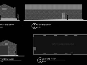 Change of Use Application Submitted to Create New Retail Unit.