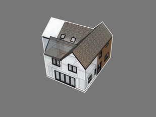 Extension Approved in the Madeley Conservation Area.