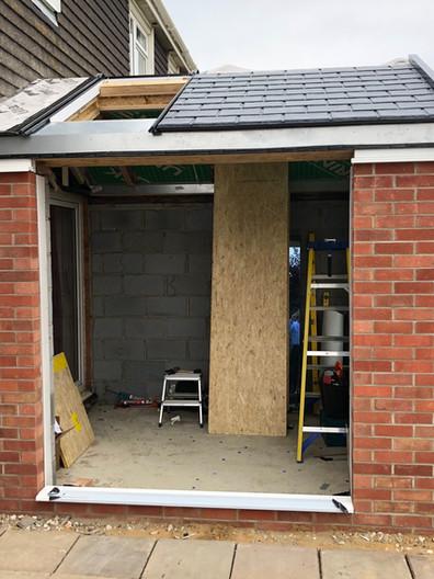 Construction 2 - House Extenion Norwich, Norfolk.