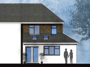 Wraparound extension approved in Birmingham.