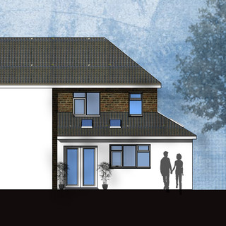 Wrap around Extension Approved in Birmingham.