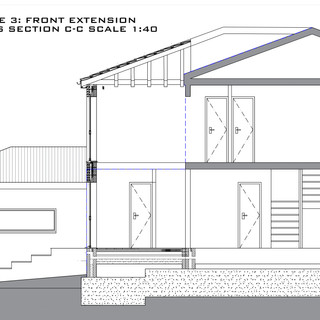 Full Plans Approval for front and rear extensions in Barnet, London.