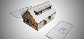 Planning Application to raise the ridge height and convert the enlarged loft space aproved in Littleover, Derby.