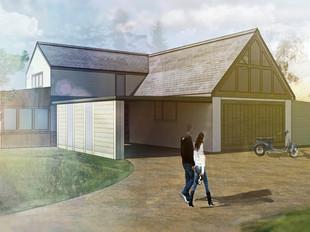 Barn Conversion Planning Application in Wem.
