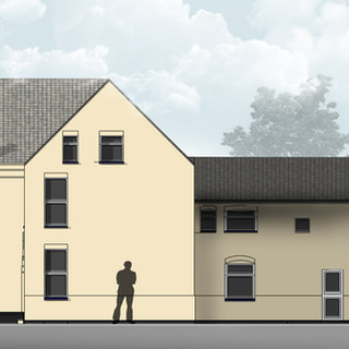 Sub-division of large property into four self contained flats, Norfolk.