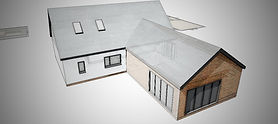 Approved house re-model plannng aplication in Wymondham, Norfolk. En-Plan: Planning & Architectural Consultants for Norolk.