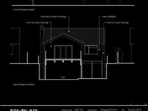 Two-storey rear extension approved at Planning Committee.