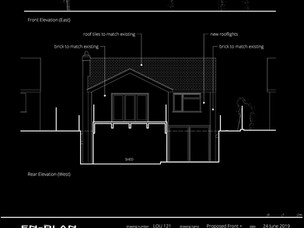 New two-storey rear extension Approved.