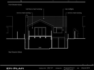 New home extension Approved.