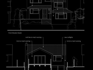 Planning Appliocation for two storey extension and cinema room submitted.