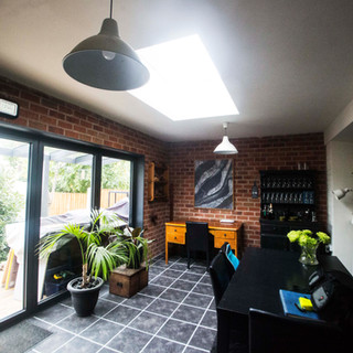 Extension in Conservation Area.