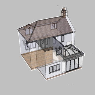 Building Regulations Approval for Extension in Copthorne, Shrewsbury.