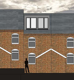 Loft Conversion and rea extension planning applicaton approved in Hanley, Stoke-on-Trent.