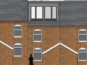 Loft conversion and extension planning application approved in Stoke-on-Trent.