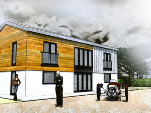 Barn re-model approved.