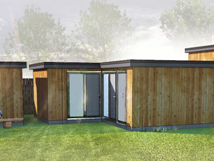 Planning Approval for new Home Office, Gym, and Reording Studio.