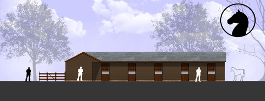 """New Stable Block Approved at the """"Old Dairy"""", Essex."""