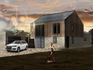 Architetcural Visualisation for New House in Norfolk.