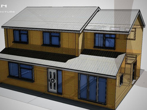 First Floor Side Extension Approved.