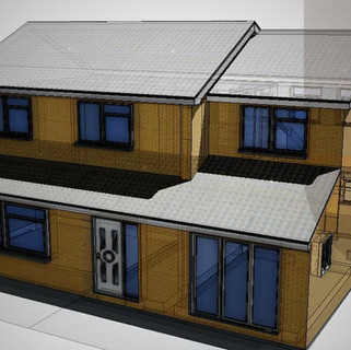 House Extension Approved in Lowestoft, Suffolk.
