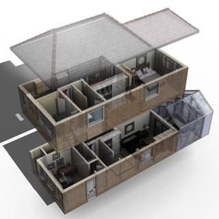 Approved Two-Sorey Rear Extension Birmingham.
