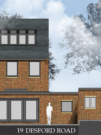 Approved Rear Elevation