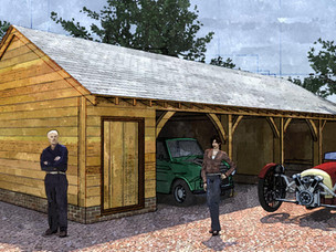 Triple Garage and Store receives planning approval.