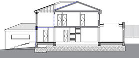 Full Plans Builing Regs Application approved for his bespok extension in Barnet, London.